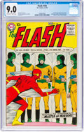 Silver Age (1956-1969):Superhero, The Flash #105 (DC, 1959) CGC VF/NM 9.0 Off-white to white pages....