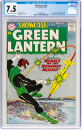 Silver Age (1956-1969):Superhero, Showcase #22 Green Lantern (DC, 1959) CGC VF- 7.5 Off-white towhite pages....
