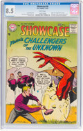 Silver Age (1956-1969):Superhero, Showcase #6 Challengers of the Unknown (DC, 1957) CGC VF+ 8.5 White pages....