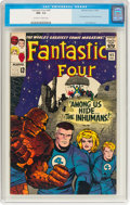 Silver Age (1956-1969):Superhero, Fantastic Four #45 (Marvel, 1965) CGC NM- 9.2 Off-white to white pages....