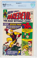 Silver Age (1956-1969):Superhero, Daredevil #1 (Marvel, 1964) CBCS VF/NM 9.0 White pages....