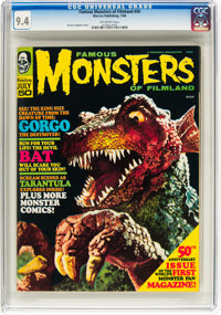Famous Monsters of Filmland #50 (Warren, 1968) CGC NM 9.4 Off-white pages