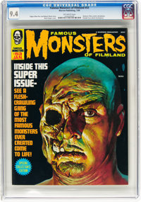 Famous Monsters of Filmland #53 (Warren, 1969) CGC NM 9.4 Off-white pages