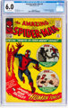 The Amazing Spider-Man #8 (Marvel, 1964) CGC FN 6.0 Off-white pages