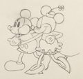 Animation Art:Production Drawing, The Pet Store Mickey and Minnie Mouse Production Drawing (Walt Disney, 1933)....