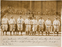 1927 New York Yankees Team Signed Photograph