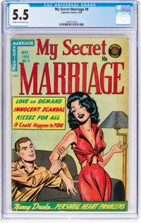 My Secret Marriage #9 (Superior Comics, 1954) CGC FN- 5.5 Cream to off-white pages