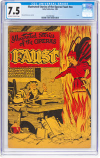 Illustrated Stories of the Operas #nn Faust (Baily Publication, 1943) CGC VF- 7.5 Off-white to white pages