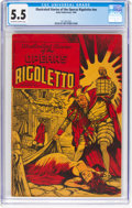 Golden Age (1938-1955):Miscellaneous, Illustrated Stories of the Operas #nn Rigoletto (Baily Publication, 1943) CGC FN- 5.5 Off-white to white pages....