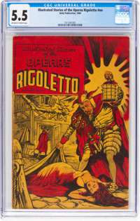 Illustrated Stories of the Operas #nn Rigoletto (Baily Publication, 1943) CGC FN- 5.5 Off-white to white pages