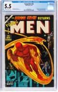 Golden Age (1938-1955):Superhero, Young Men #26 (Atlas, 1954) CGC FN- 5.5 Off-white to white pages....