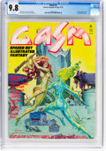 Magazines:Science-Fiction, Gasm #3 (Stories, Layouts & Press, Inc., 1978) CGC NM/MT 9.8 White pages....