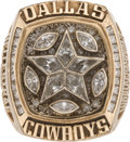 Football Collectibles:Others, 1995 Dallas Cowboys Super Bowl XXX Championship Ring Presented to Long Snapper Dale Hellestrae....