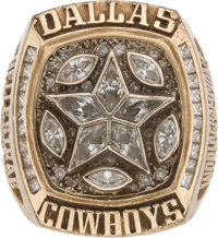1995 Dallas Cowboys Super Bowl XXX Championship Ring Presented to Long Snapper Dale Hellestrae