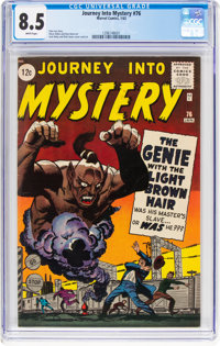 Journey Into Mystery #76 (Marvel, 1962) CGC VF+ 8.5 White pages