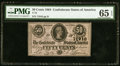 Confederate Notes:1864 Issues, T72 50 Cents 1864 PF-1 Cr. 578 PMG Gem Uncirculated 65 EPQ.. ...