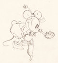 Animation Art:Production Drawing, Minnie Mouse and Pluto Animation Drawings Group of 2 (Walt Disney,1932-33).... (Total: 2 Original Art)