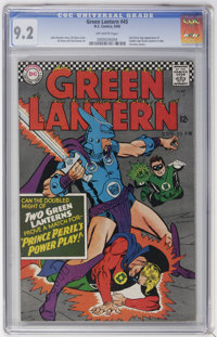 Green Lantern #45 (DC, 1966) CGC NM- 9.2 Off-white pages