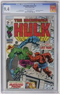 The Incredible Hulk #122 (Marvel, 1969) CGC NM 9.4 Off-white to white pages