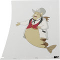 """Animation Art:Production Cel, """"Fish Police"""" - Animation Production Cel and Clean-Up DrawingOriginal Art, Group of 3 (Hanna-Barbera, 1992).... (Total: 3)"""