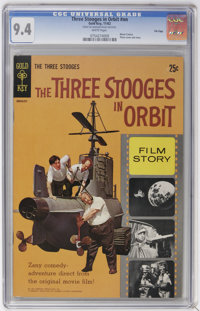 Three Stooges File Copies CGC Group (Gold Key, 1962-67) CGC NM 9.4.... (Total: 3)