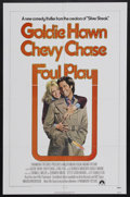 """Movie Posters:Comedy, Foul Play (Paramount, 1978). One Sheet (27"""" X 41""""). Comedy Thriller. Starring Goldie Hawn, Chevy Chase, Burgess Meredith, Ra..."""