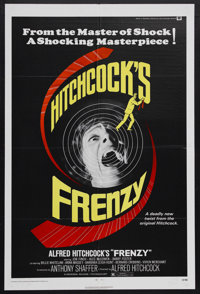 "Frenzy (Universal, 1972). One Sheet (27"" X 41""). Thriller. Directed by Alfred Hitchcock. Starring Jon Finch, A..."