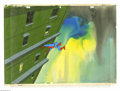 "Original Comic Art:Miscellaneous, Krantz Films - ""Spider-Man"" Hand Painted Production Cel onProduction Background Original Art (1970). Eight years beforeTob..."