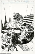 Original Comic Art:Covers, Wendy Pini - Elfquest #23 Cover Original Art (Marvel, 1987). Fromthe cover of Elfquest #23, a Warp Graphics/Marvel Comi...