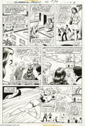 Original Comic Art:Panel Pages, Kurt Schaffenberger - Superman Family #117, page 8 Original Art(DC, 1976). As the girl's class advisor at New Athens School...