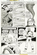 Original Comic Art:Panel Pages, Kurt Schaffenberger - Superman Family #117, page 9 Original Art (DC, 1976). Supergirl clears an observatory of flames and sm...