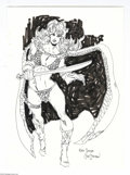 Original Comic Art:Sketches, Joe Staton - Red Sonja Sketch Original Art (undated). Comics fans know all about Joe Staton. Co-creator of the fondly recall...
