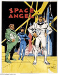 Original Comic Art:Miscellaneous, Sal Trapani - Space Angel Production Art (1965). Dick Giordano'sbrother-in-law, Sal Trapani, perhaps best known for the dyn...