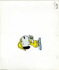 Original Comic Art:Miscellaneous, Melendez Productions - Snoopy Hand Painted Production Cel OriginalArt (undated). Slipping his sweat band on with all the co...