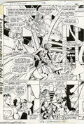 Original Comic Art:Splash Pages, George Perez and Dick Giordano - Crisis on Infinite Earths #1,pages 26 and 27 Original Art (Marvel, 1985). Crisis on Infi...