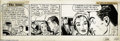 "Original Comic Art:Comic Strip Art, Mike Roy - The Saint Daily Comic Strip Original Art, dated 5-27-50 (New York Herald Tribune, 1950). ""Wherever a mouse knows ..."