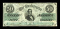 Confederate Notes:1861 Issues, T16 $50 1861 Cr. 94 PF-17.. ...