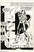 Original Comic Art:Splash Pages, Bill Sienkiewicz and Joseph Rubinstein - The Hulk #13 Splash Page38 Original Art (Marvel, 1979). Bill Sienkiewicz is a true...