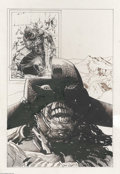 Original Comic Art:Splash Pages, Arthur Suydam - Death Dealer #4 Splash Page Original Art (Verotik,1998). Writer Glenn Danzig is joined in this issue by one...