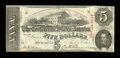 Confederate Notes:1863 Issues, T60 $5 1863 Cr. 468 PF-25 State I.. ...