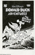 Original Comic Art:Covers, William Van Horn - Walt Disney's Donald Duck Adventures #33 CoverOriginal Art (Gladstone, 1995). If you're looking for a tr...(Total: 2 items Item)