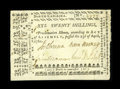 Colonial Notes:North Carolina, North Carolina April 23, 1761 20s Very Fine-Extremely Fine....