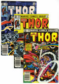 Modern Age (1980-Present):Superhero, Thor Box Lot (Marvel, 1982-92) Condition: Average VF/NM....