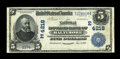 National Bank Notes:Maryland, Baltimore, MD - $5 1902 Date Back Fr. 593 The National Howard BankCh. # (E)4218. ...
