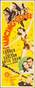 """Movie Posters:Comedy, Dancing Co-Ed (MGM, 1939) Folded, Very Good. Insert (14"""" X 36"""").Comedy...."""