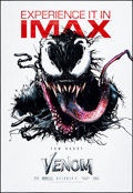 """Movie Posters:Action, Venom (Columbia, 2018) Rolled, Very Fine-. IMAX Bus Shelter (48"""" X 70"""") DS Advance. Action...."""