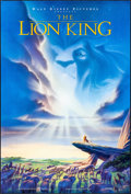 "Movie Posters:Animation, The Lion King (Buena Vista, 1994) Rolled, Very Fine/Near Mint. OneSheet (27"" X 40"") DS, Advance. John Alvin Artwork. Animat..."