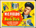 """Movie Posters:Comedy, The Bank Dick (Universal, 1940) Fine/Very Fine. Title Lobby Card(11"""" X 14""""). Comedy...."""