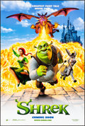 """Movie Posters:Animation, Shrek & Other Lot (DreamWorks, 2001) Rolled, Very Fine-. One Sheets (2) (27"""" X 40"""") DS Advance. Animation.... (Total: 2 Items)"""