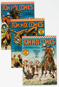 Golden Age (1938-1955):Western, Tom Mix Comics Group of 7 (Ralston-Purina Co., 1941-48) Condition: Average FN.... (Total: 7 Comic Books)